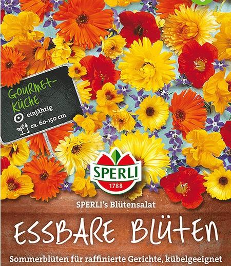 Essbare Blumenmischung, Sperli's Blütensalat,1 Portion