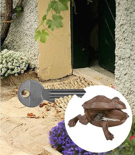 Esschert Design Schlüsselversteck Frosch,1 Stück