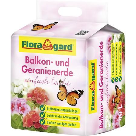 Floragard Balkon- und Geranienerde einfach leicht