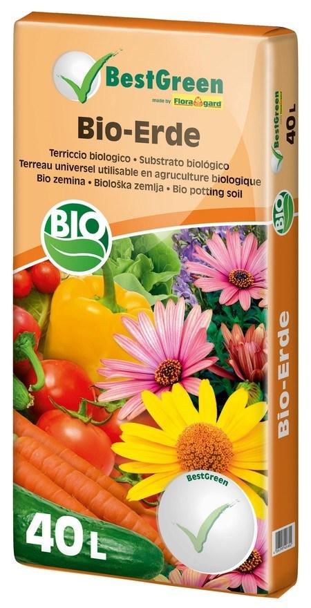 Floragard Best Green Bio Blumenerde 40L