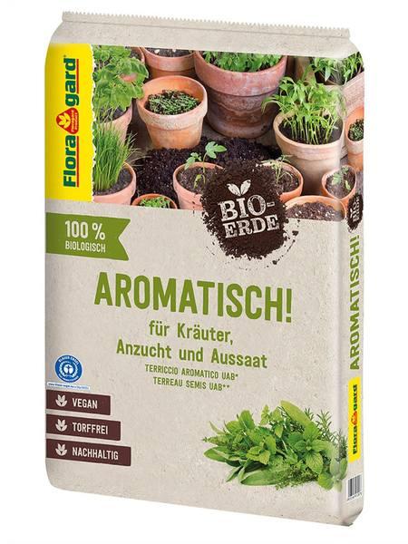 Floragard Bio-Erde Aromatisch torffrei 1x10L