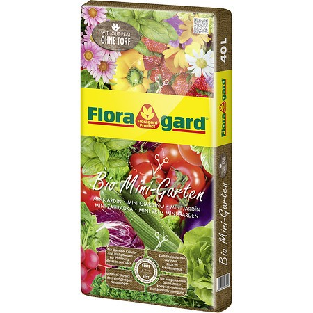 Floragard Bio Mini Garten ohne Torf
