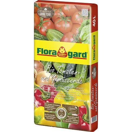 Floragard Bio Tomaten- und Gemüseerde ohne Torf