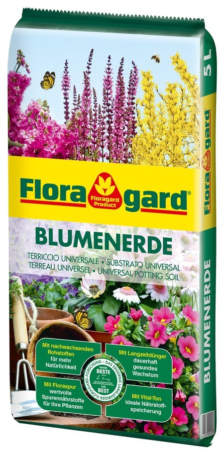 Floragard Blumenerde 1 X 5L
