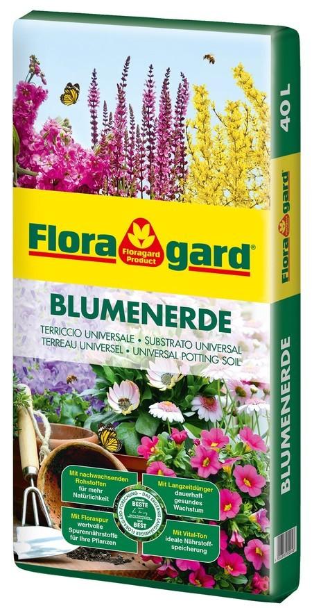 Floragard Blumenerde 1X40L