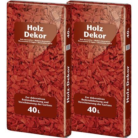 Floragard Holzdekor Rot