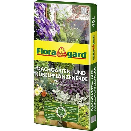 Floragard Kübelpflanzen und Dachgartenerde