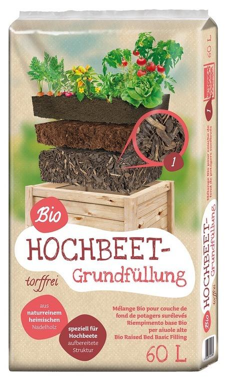 Floragard Universal Bio Hochbeet Grundfüllung 60L