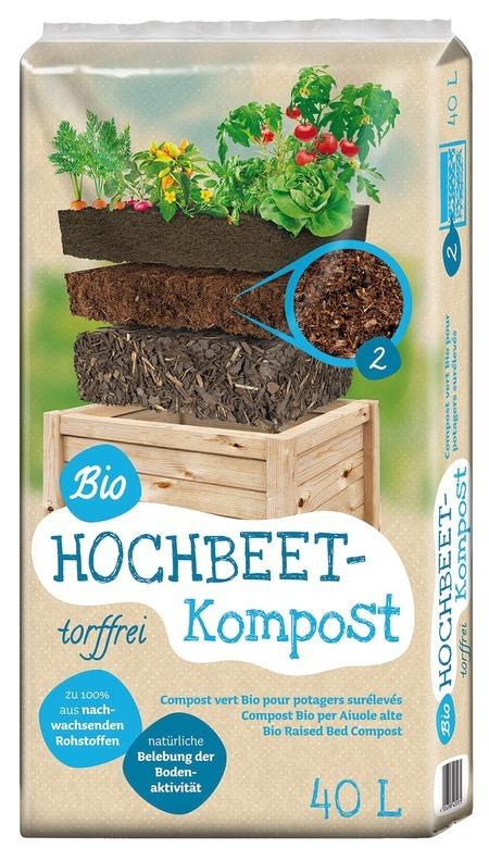 Floragard Universal Bio Hochbeet Kompost 40L