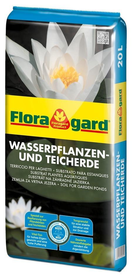 Floragard Wasserpflanzen- und Teicherde 20L