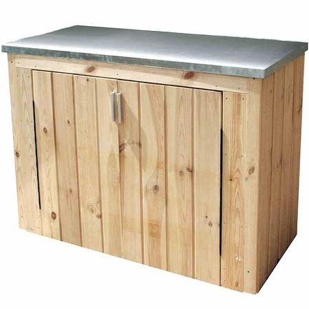 forest style gartenschrank ania g nstig online kaufen. Black Bedroom Furniture Sets. Home Design Ideas