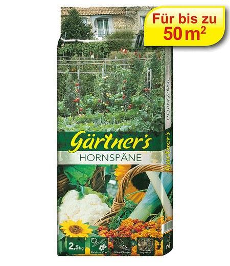 Gärtner's Gärtner's Hornspäne,2,5 kg