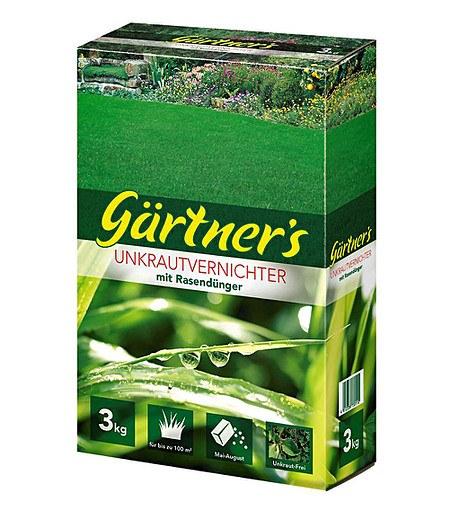 Gärtner's Gärtner's Rasendünger mit Unkraut-Vernichter,3 kg