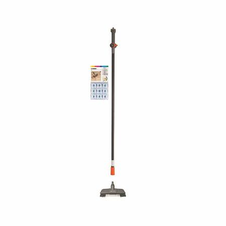 GARDENA Cleansystem Bodenwasch-Set, 1 x Komfort-Schrubber, Wasserstiel 150