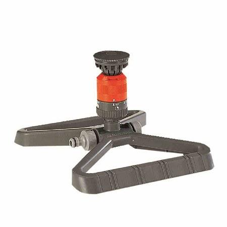 GARDENA Kreisregner Vario, auf Kunststoffschlitten, 90-360°