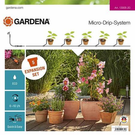 GARDENA MDS Erweiterungsset Pflanztöpfe