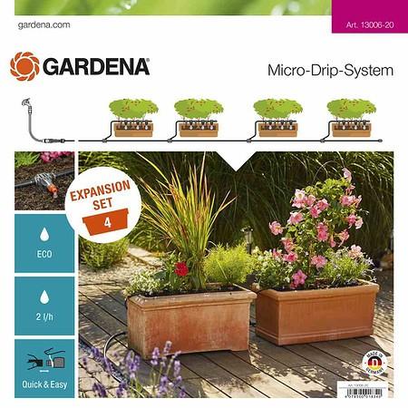 GARDENA MDS Erweiterungsset Pflanztröge