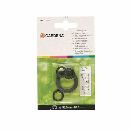 GARDENA Profi-System Dichtungssatz, Inhalt 3 O-Ringe