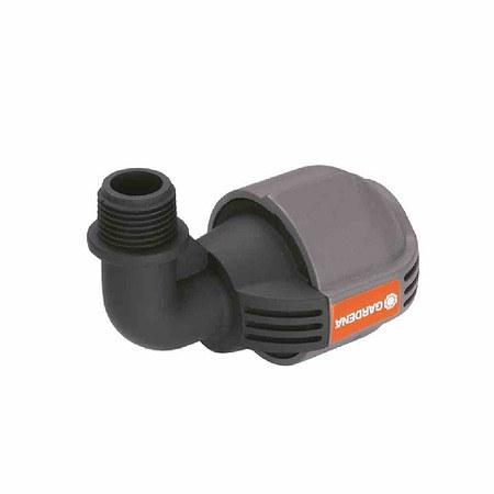 """GARDENA Sprinkler-System L-Stück, Außengewinde 19mm(¾""""), 25mm, Quick&Eas"""