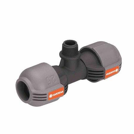 """GARDENA Sprinkler-System T-Stück, Außengewinde 13mm(½""""), 25mm, Quick&Eas"""