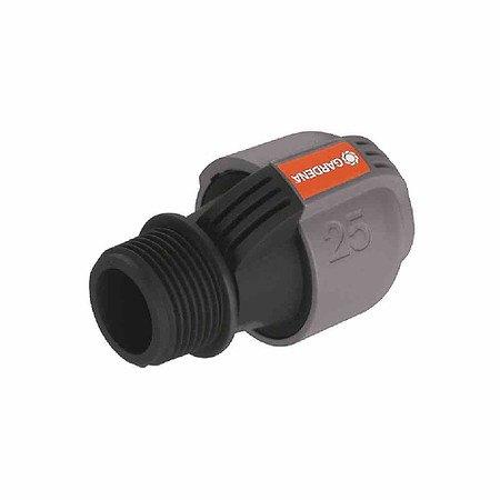 """GARDENA Sprinkler-System Verbinder, Außengewinde 25mm(1""""), 25mm, Quick&Eas"""