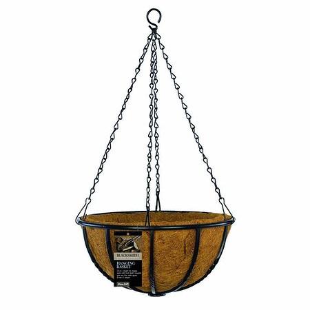 GARDMAN Hängeampel Blacksmith, Ø 35cm