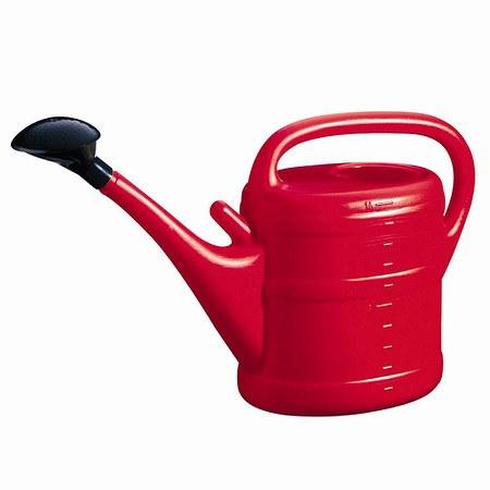 GELI Kunststoff-Gießkanne 10l rot