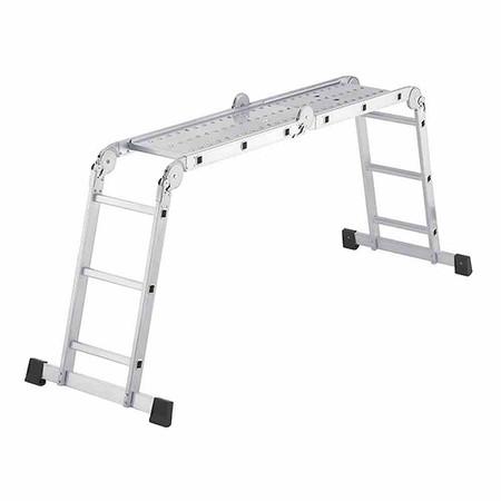HAILO Aluminium-Universalleiter ProfiStep® combi 4 x 3 Sprossen