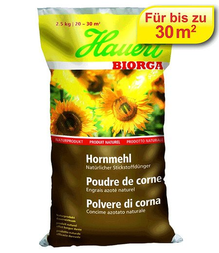 Hauert Hauert Biorga Hornmehl,2,5 kg Beutel