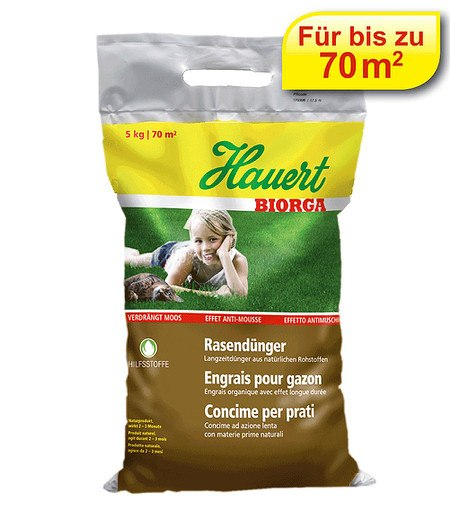 Hauert Hauert Biorga Rasendünger-Sphero-Granulat,5 kg
