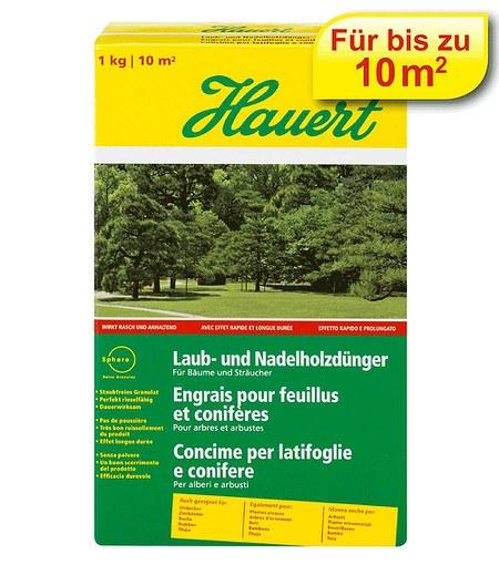 Hauert Hauert Laub- und Nadelholzdünger,1 kg Karton