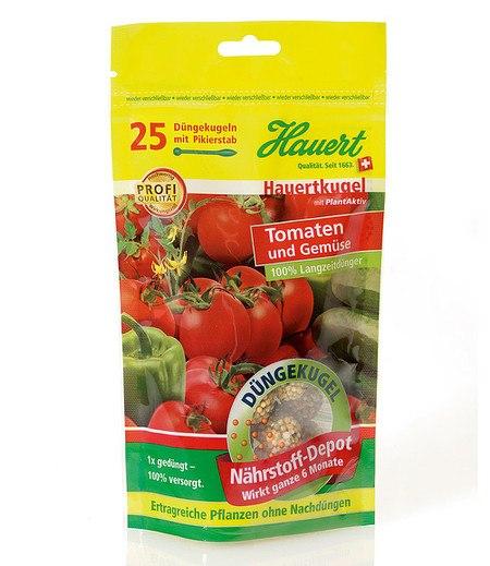 Hauert Hauertkugel für Tomaten und Gemüse,25 Stück