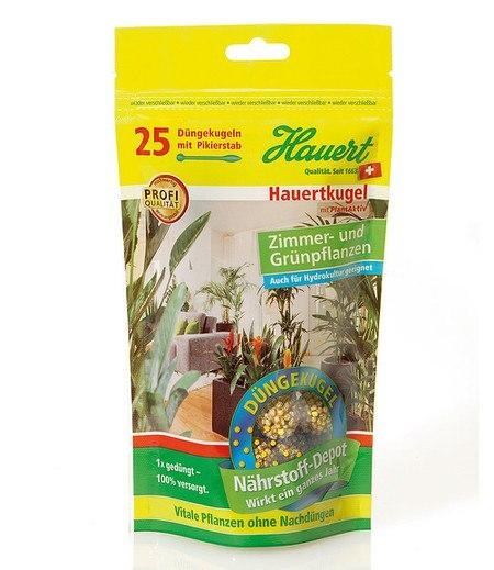 Hauert Hauertkugel für Zimmer- und Grünpflanzen,25 Stück