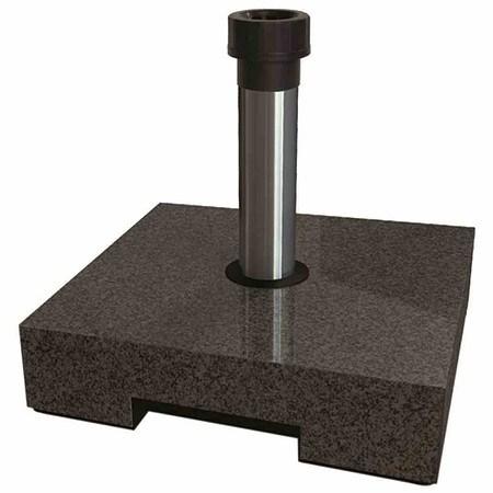 HELCOSOL Schirmständer in Granitoptik 40 kg, dunkel, aus Vollkunststoff, Beton