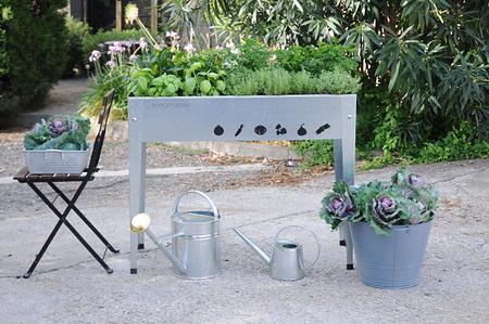 Herstera Garden Hochbeet Urban, 100x 40x 84 cm (BxTxH)