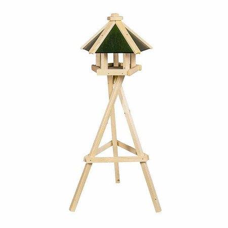 H.G-VOGEL Vogelfutterhaus Pepe mit Ständer, Maße: 49x38cm