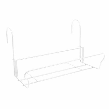 JARDIFER Universal Balkonkasten-Halter41,5x22cm, weiß