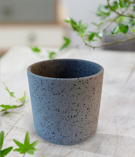 "Keramik-Übertopf ø 10 cm ""schwarz"",1 Stück"