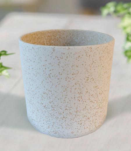 """Keramik-Übertopf ø 13 cm """"weiß"""",1 Stück"""
