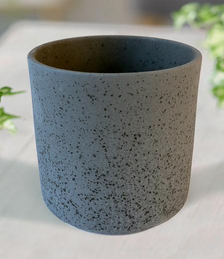 "Keramik-Übertopf ø 17 cm ""schwarz"",1 Stück"