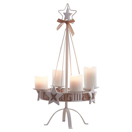 Kerzenständer White Christmas
