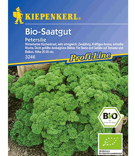 Kiepenkerl BIO-Petersilie, krause,1 Portion