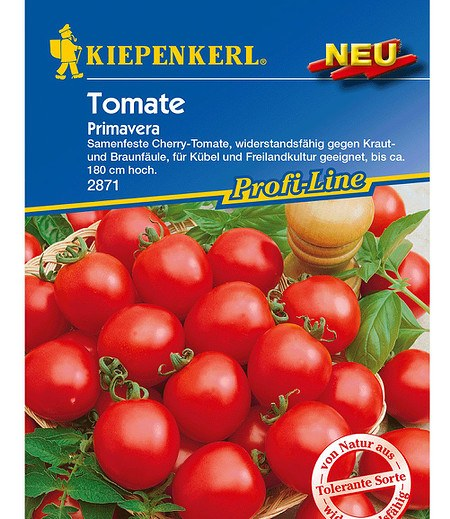 kiepenkerl cherry tomaten primavera 1 portion g nstig. Black Bedroom Furniture Sets. Home Design Ideas