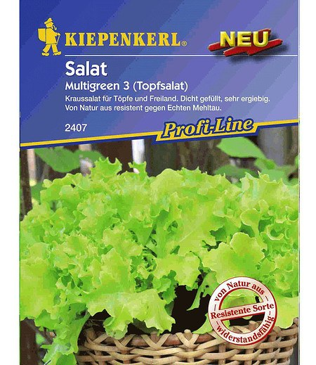 "Kiepenkerl Schnittsalat ""Multigreen 3"",1 Portion"