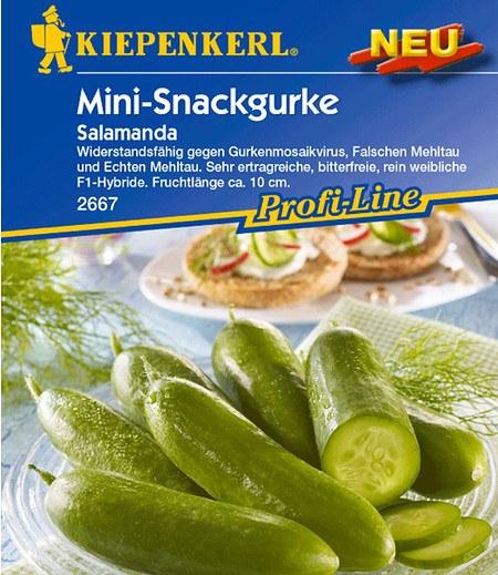 "Kiepenkerl Snackgurke ""Salamanda"" F1,1 Portion"
