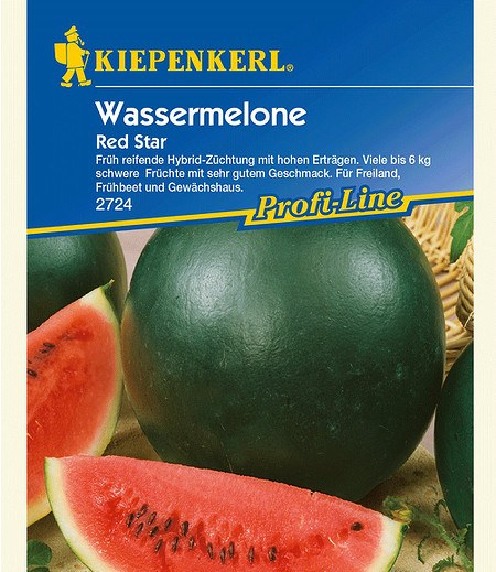 "Kiepenkerl Wassermelone ""Red Star"" F1,1 Portion"