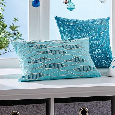 Kissenhülle Blue Water Blau