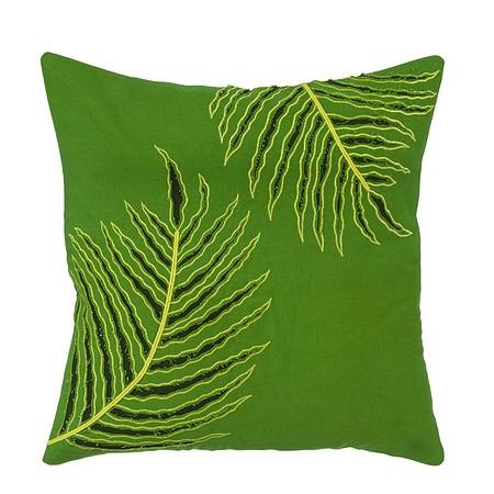 Kissenhülle Green Palm Grün