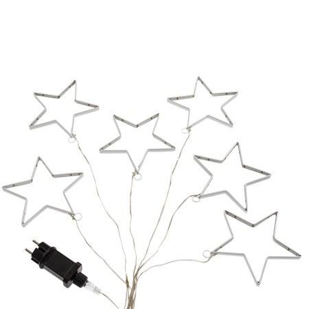 Lichterkette LED Sterne
