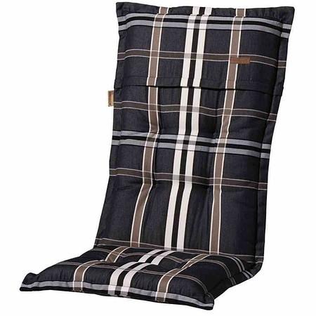 MADISON Auflage für Sessel hoch, Nils taupe, 100% Polyacryl